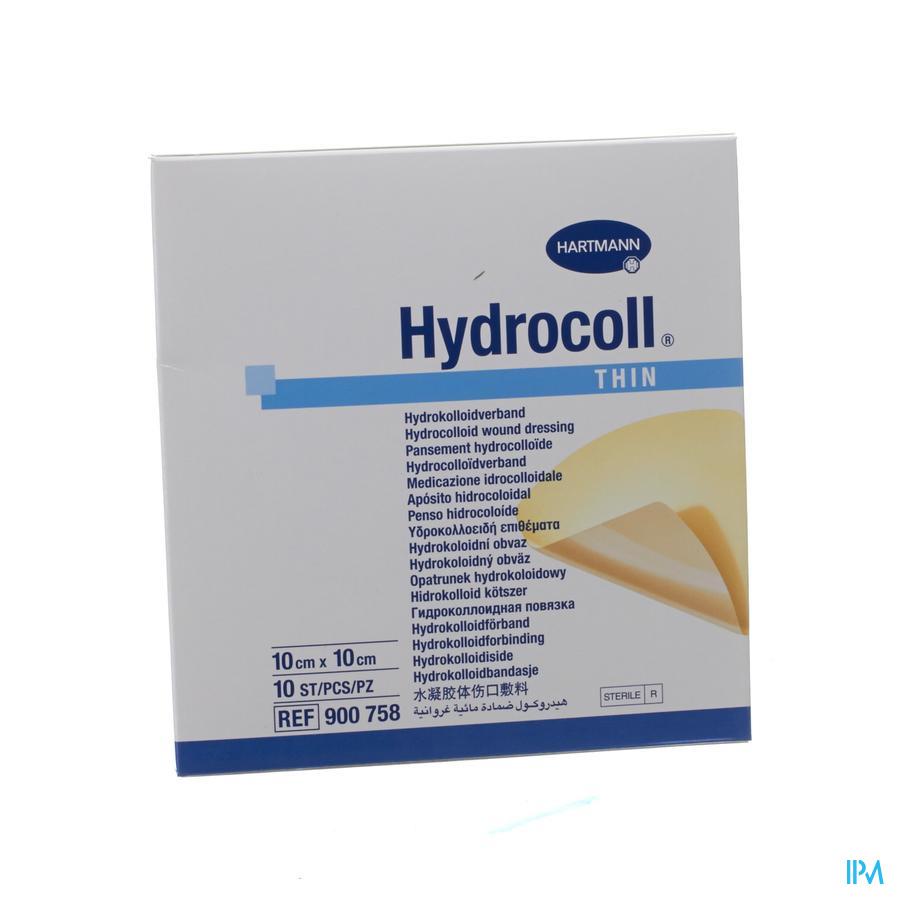 Hydrocoll Thin 10x10cm
