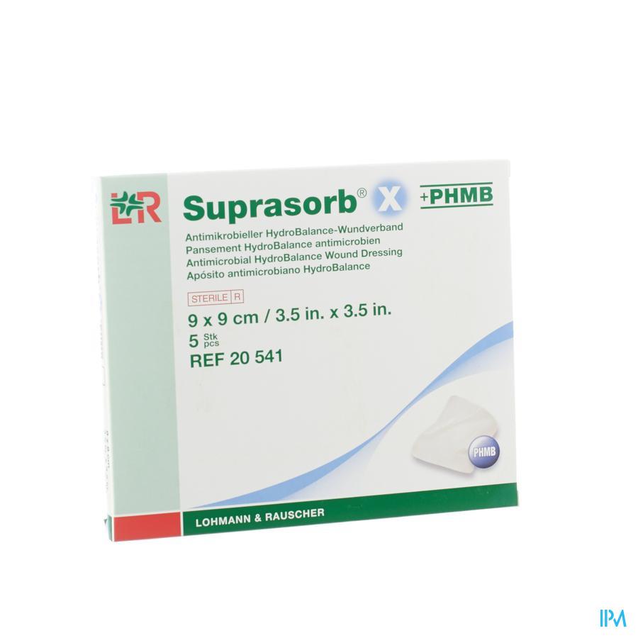 Suprasorb X + PHMB 9x9cm
