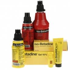 Reinigen - ontsmetten: assortiment Isobetadine