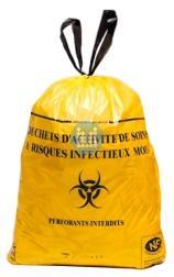Zakken medisch afval met Biohazard logo 30L  op rol (25stuks)