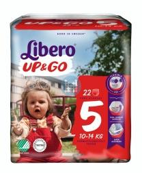 Libero Luiers Up & Go 5 10-14 kg (20 stuks)