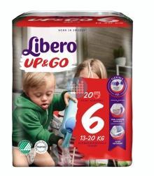 Libero Luiers Up & Go 6 13-20 kg (18 stuks)