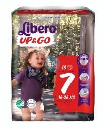 Libero Luiers Up & Go 7 16-26 kg (16 stuks)