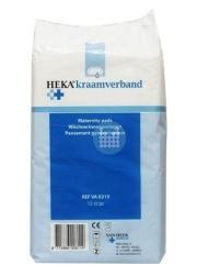 Kraamverband HEKA (zak van 12 stuks)