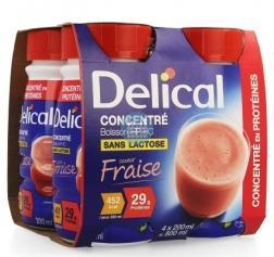 Delical Geconcentreerd Aardbei (452 kcal/ flesje)