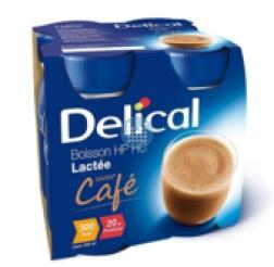 Delical HP-HC ( zonder suiker) Koffie  4x200 ml (300 kcal/flesje)