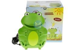 Aerosol voor baby kikker