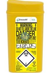 Naaldcontainer Sharpsafe / 0,2L